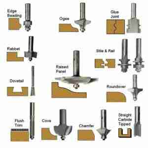 router bit uses
