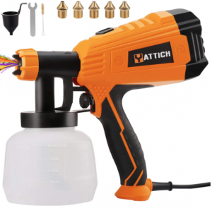 YATTICH Paint Sprayer, 700W High Power HVLP Spray Gun