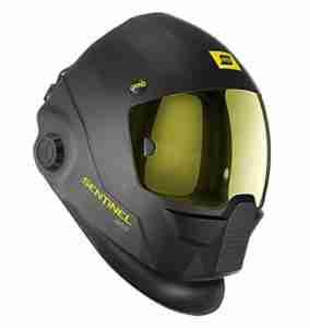 esab-sentinel auto darkening welding helmet
