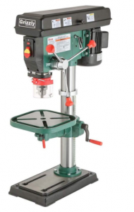 "Grizzly Industrial G7943-14"" Metalworking Benchtop Drill Press"
