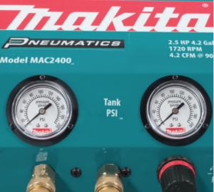 small makita air compressor air guages
